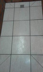 Inloopdouche vloer